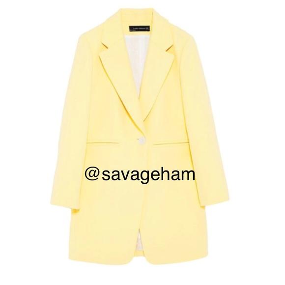 Zara Jackets & Blazers - Zara women's Straight Cut Frock Coat